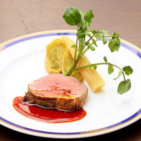 牛フィレ肉のポワレ マルサラソース